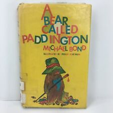 A Bear Called Paddington by Michael Bond 1960 First Edition USA Hardcover