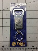 TIGER BEER Metal KEYCHAIN BOTTLE OPENER Key Ring Malaysia