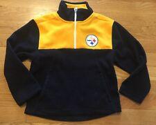 Steelers Kids Pullover Fleece Sz Small (4) NWT NFL