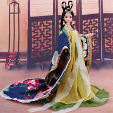 Traditional Chinese Dolls Girls Toy Ancient Collectible Beautiful Vintage Style