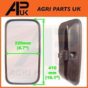 APUK Glass Side wing Mirror Head 310x230mm fits Universal Motorhome Caravan Forklift Plant