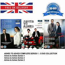 Ashes To Ashes Complete Series 1-3 (12-BoxSet) 2010 UK REGION 2 DVD