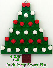 LEGO Custom Christmas Ornament - Green Christmas Tree Hand Made NEW Free Ship