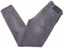 SCOTCH & SODA Mens Jeans W32 L32 Black Cotton Slim Skim JD04