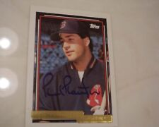 Red Sox Phil Plantier Autographed Card