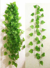 """10x 90"""" Artificial Grape Vines Ivy Hangings Home Party Wall Garland Decor"""