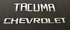 CHEVROLET TACUMA REAR LETTERS BADGE LOGO EMBLEM (B83)