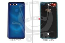 Official Huawei Honor View 20 Phantom Blue Rear / Battery Cover - 02352LNV