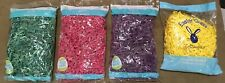 Easter Grass Gift Basket Crinkle Paper 6oz Tot Pink,Purple, Etc Eco friendly USA