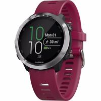 Garmin Forerunner 645 Music Training GPS with Cerise Colored Band 010-01863-21