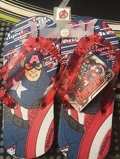 Marvel Flip Flops Size 11 111/2. Nwt