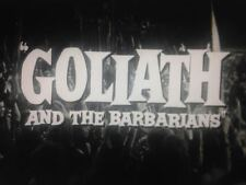 Goliath and the Barbarians 1959 16mm B&W Trailer Steve Reeves Chelo Alonso