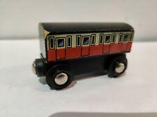 Very Rare BRIO Wooden Railway 33626 CLASSIC COACH With STAPLES Train Set