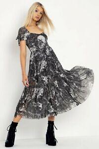 Black Milk The Fall Of The Rebel Angels Tier Sweetheart Dress XL BNWT