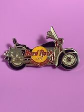 Hard Rock Cafe BUENOS AIRES Black & White Harley Motorcycle SILVER PIN HRC #1437