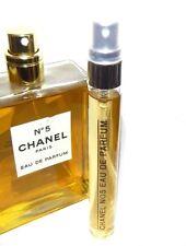 Chanel No 5 Eau de Parfum 10ml EDP .33oz SAMPLE Travel Spray Glass N°5 No5 N5