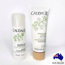 Caudalie Micellar Cleansing Water & Moisturizing Mask Travel Size Set