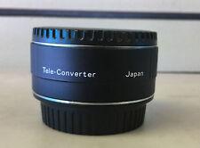 NEW Digital Advance 2x Autofocus Teleconverter for Canon HD MC 2X C-AF Japan