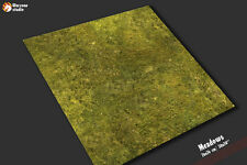 "Battle mat: ""Meadows"" - gaming table,  wargames Necromunda Shadow War 30x30"