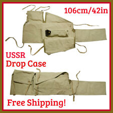 USSR Soviet Gun Rifle Drop Case Canvas Cover Firearms Carrying Bag 106cm/42in