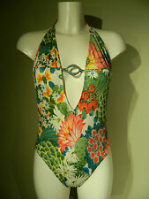 ANDRES SARDA FLORAL SWIMSUIT UK SIZE 10 US SIZE 34 RRP £116