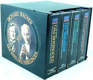 Wagner: Der Ring des Nibelungen [Box Set]  Georg Solti (CD, 15 Discs, London)