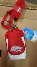 Arkansas Razorbacks Hogs Purse Plus Touch Phone  ID Wallet Charm 14 Gift Compact