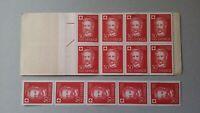 H127 Sweden 1959 Scott #B47 + B48 MNH stamps Red Cross Centenary Henri Dunant