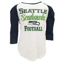 Seattle Seahawks Official NFL Apparel Teens Girls Size Sheer Shirt New with Tags