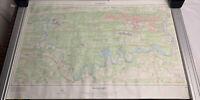 1987 Vintage Map Of Oak Ridge Area, Tennessee - Secret City - 1:24,000