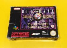 Ultimate Mortal Kombat 3 GIOCO SNES Super Nintendo PAL