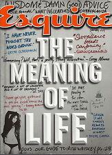 Meaning of Life Esquire Magazine Jan 2014 Emmy Rossum Winklevoss Dr Dre Kitsch