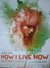 HOW I LIVE NOW Affiche Cinéma / Movie Poster Saoirse Ronan George Mackay