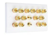 7.2 Sottile Audio Surround Altoparlante Parete Piastra di faccia