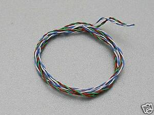 """CARDAS 33awg X4 Litz 475mm Twisted Pair Internal (12"""") Tone Arm Cable"""