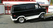 Ho Slot Car 1977 Chevy Van G20 Rare New Metal Body With new  4 Gear Chassie