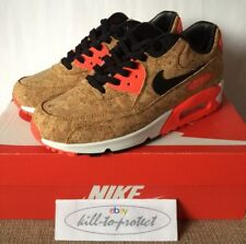f88a580912 NIKE AIR MAX 90 CORK Sz US8 UK7 25th Anniversary Infrared 725235-706 OG 2015