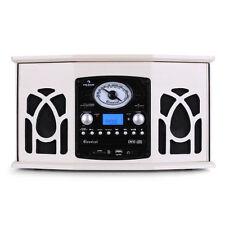 Auna Nr-620 Retro Stereo Record Player FM Radio CD Mp3 Recorder Cassette USB SD