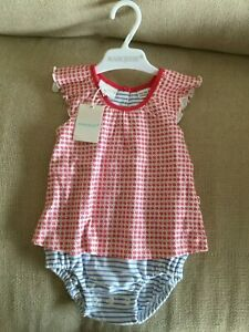 MARQUISE Baby Girl Romper Dress and Bloomer- SIZE 00 - New with tag - RRP $42.95
