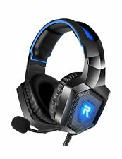 RUNMUS Stereo Gaming Headset for PS4, Xbox One, Nintendo Switch, PC, PS3, Mac...