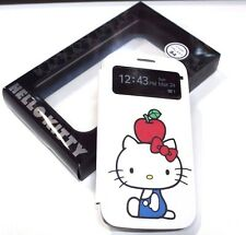 for Samsung Galaxy S4 HELLO KITTY Apple Love Smart View Flip Wallet Case Cover