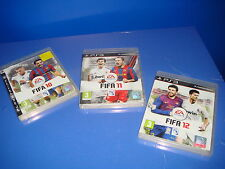Lot of 3 playstation 3 games-fifa 10-11-12 - Good Condition