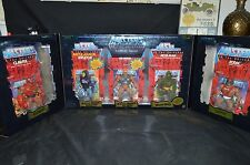 MOTU Commemorative 5 pack EXCLUSIVE MOSS MAN Masters of the Universe MISB He Man