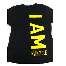 Invicta Unisex T-Shirt I Am Invincible Black, Medium IPMINVTMED