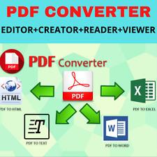 Best PDF EDITOR + Créateur + lecteur + VISIONNEUSE + Convertisseur ✅ version com