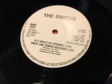 The Smiths ‎– Sheila Take A Bow / Shoplifters • RARE Greek 4-track 12""