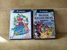 Super Smash Bros Melee & Mario Sunshine - GameCube - Great Condition, Manuals.