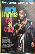 Martin Lawrence You So Crazy Original Double Sided Movie Poster  1994