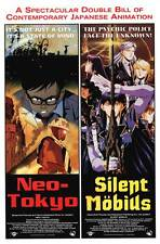 NEO-TOKYO SILENT MOBIUS COMBO Movie POSTER 27x40