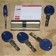 Iseo R50 Profilzylinder 40/45 mm + Sicherungskarte + 5 Wendeschlüssel